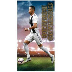Toalha de Praia Microfibra Cristiano Ronaldo Juventus