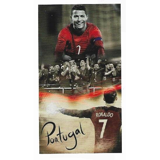 Cristiano Ronaldo Portugal Euro 2016 Microfiber Beach Towel