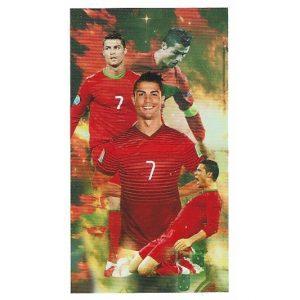 Toalha de Praia Microfibra Cristiano Ronaldo Selecção Portuguesa