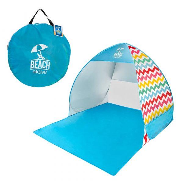 Tenda de Praia com proteção UV com saco