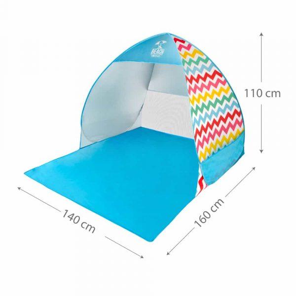 Tenda de Praia com proteção UV