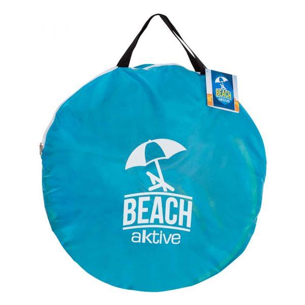 Tenda de Praia com proteção UV dentro do saco