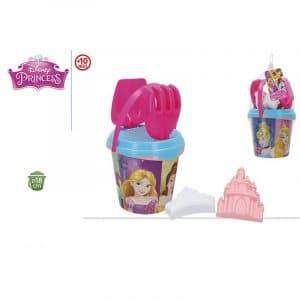 Conjunto de Balde de Praia Princesas Disney
