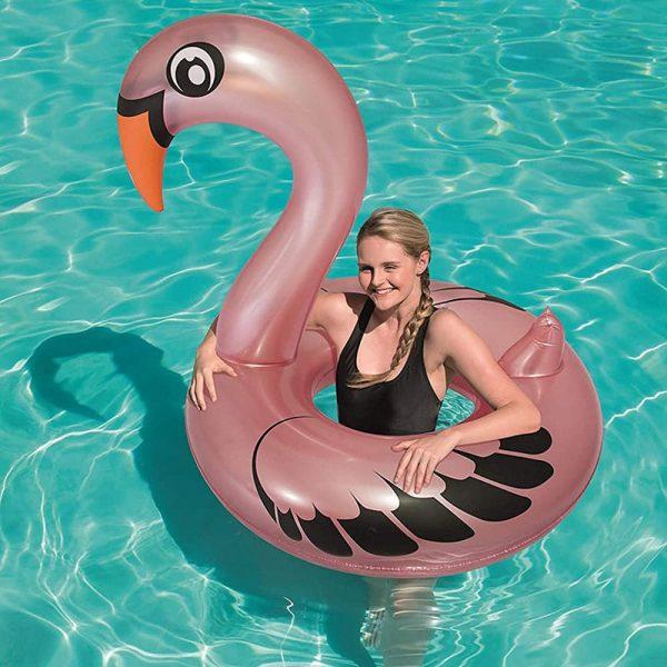 Bóia Flamingo Insuflável Bestway