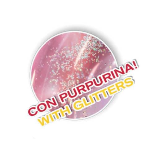 Bóia Insuflável Grande com Purpurinas e Pegas Aremar