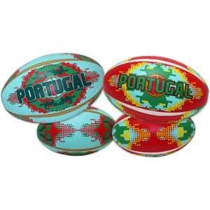 "Bola Pequena de Rugby de Praia ""Soft"" Portugal Pixelizada"