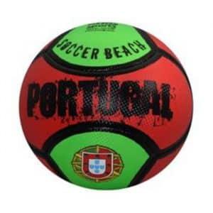 """Bola Pequena de Praia """"Soft"""" Portugal com o Escudo"""