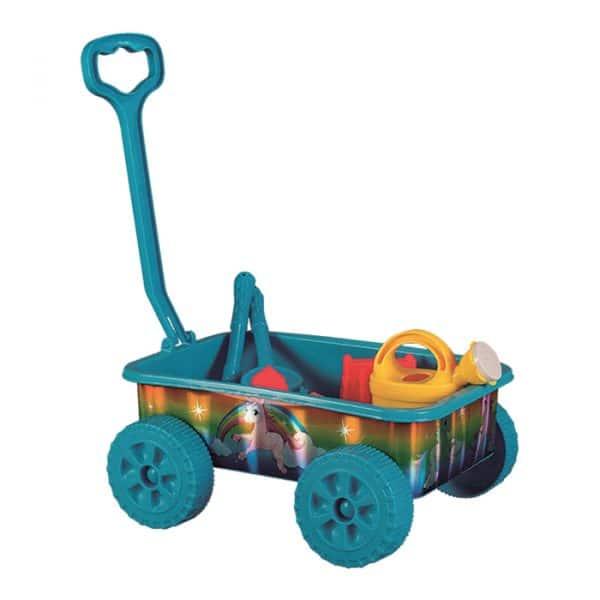 Carrinho de Transporte para Praia com Acessórios (para Crianças)