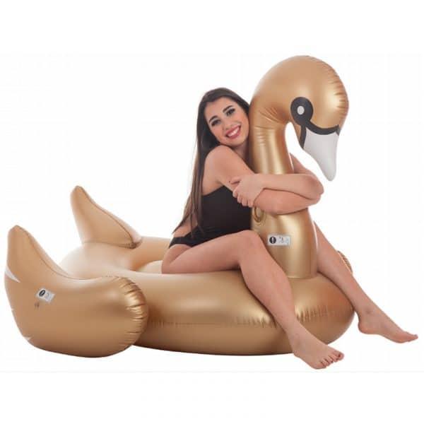 Cisne Dourado Insuflável Aremar