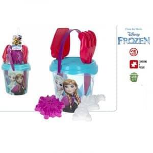 Conjunto de Balde Transparente sem regador Frozen Disney