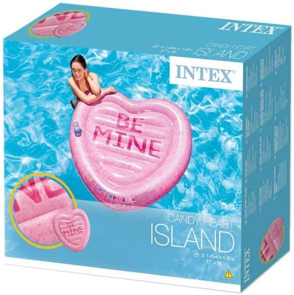 Ilha Insuflável Be Mine Intex