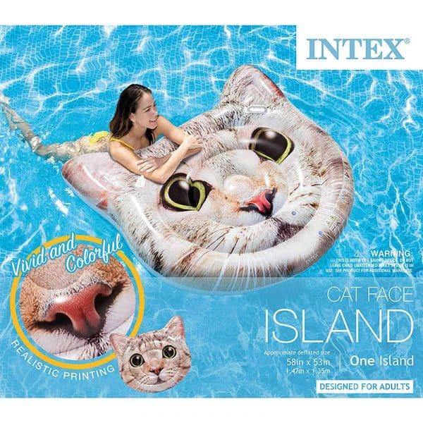 Ilha insuflável Gato Intex