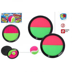 Jogo de Apanhar a Bola com Velcro