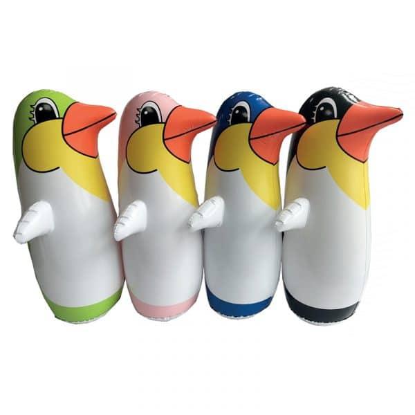 Pinguim Insuflável que Balança Aremar