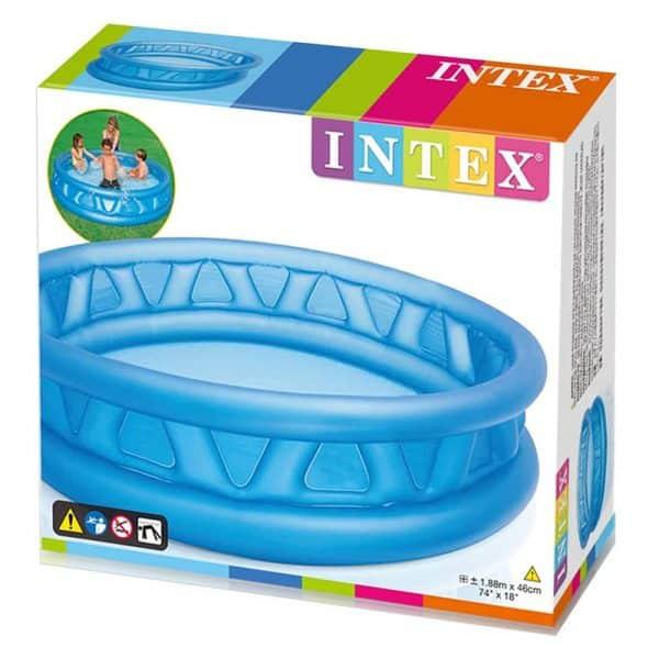 Piscina Insuflável Azul Intex 188 cm