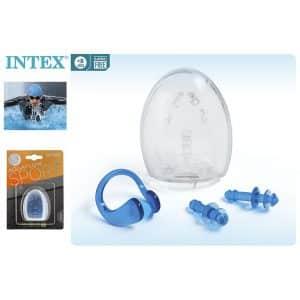 Tampões para os ouvidos e Clip para o nariz Intex
