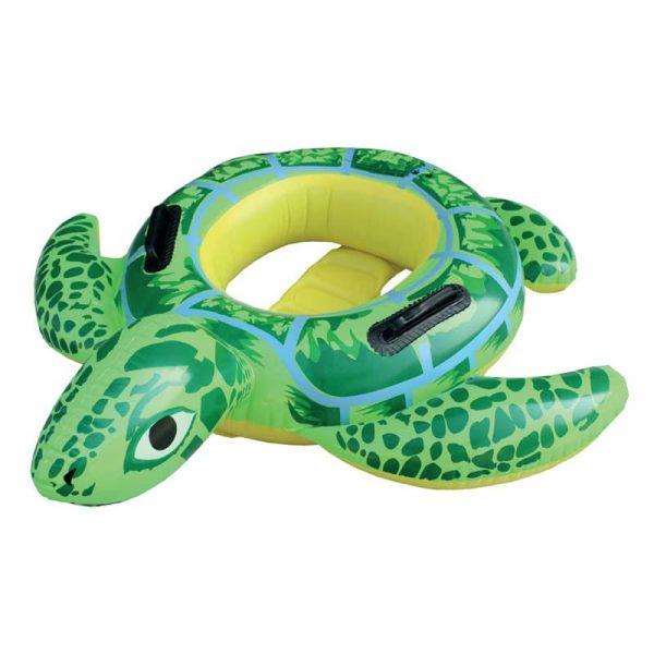 Tartaruga Insuflável para Criança com Apoio de Pernas Aremar