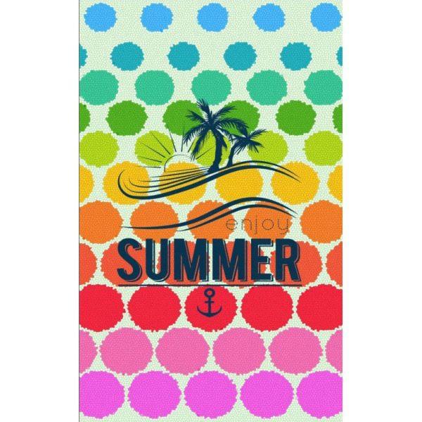 Toalha Praia Microfibra Summer Colorida