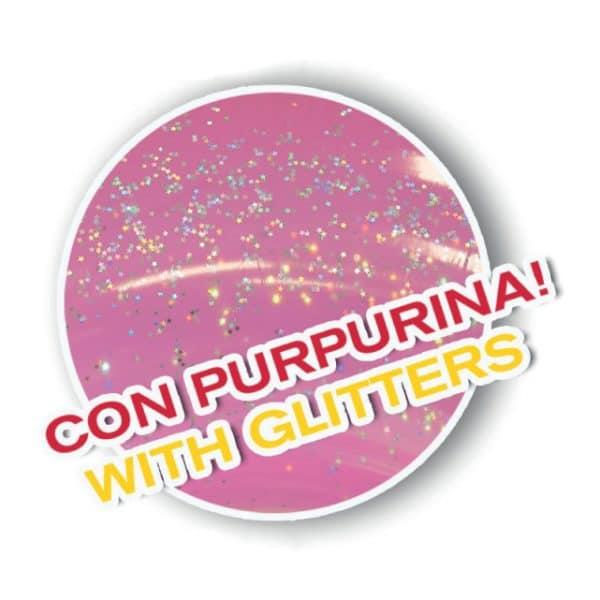 Unicórnio Transparente Insuflável com Purpurinas Aremar