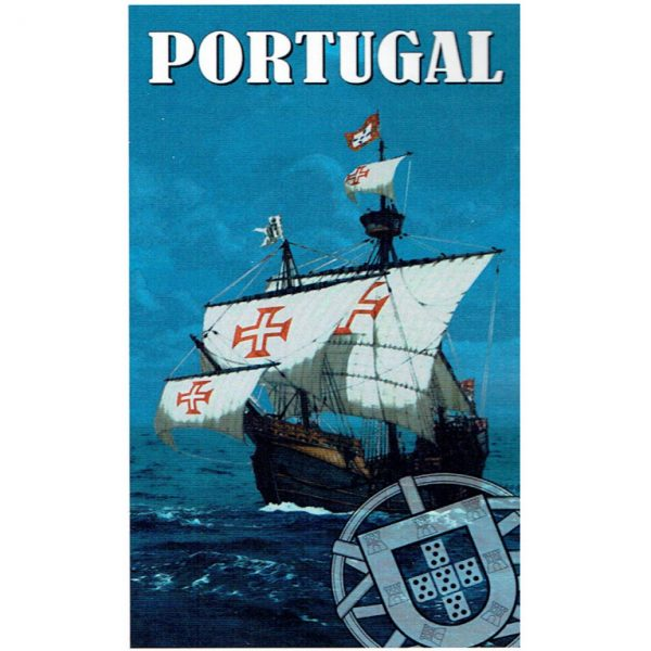 Toalha de Praia Microfibra Caravela Portuguesa