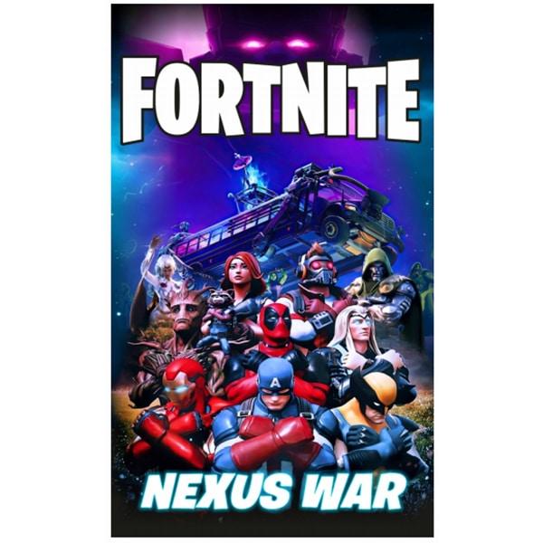 Toalha Praia Microfibra Fortnite Nexus War