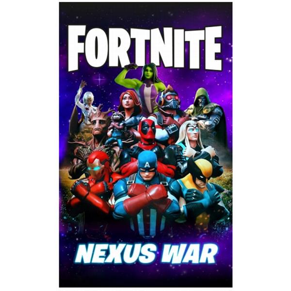 Toalha Praia Microfibra Fortnite Nexus War 2